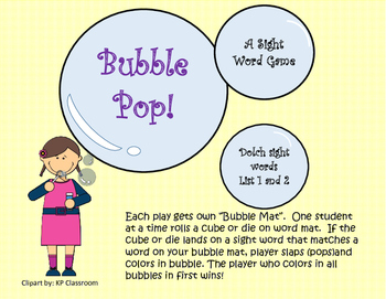 Sight Word activity for small groups