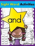 Sight Word AND (15 Activities for the word AND) Sight Word of the Week!