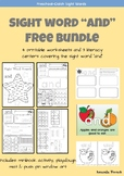 """Sight Word """"and"""" Bundle - FREE!"""