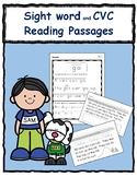 Beginning Sight Words Passages: Packet for distance learning