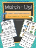 Sight Word and CVC word Sentences: Match 'em Up