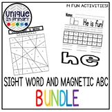 Jan Richardson Sight Words and Magnetic ABC Mat Bundle