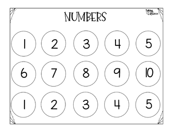 Sight Word and Numbers Activity FREEBIE