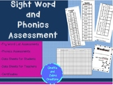 Sight Word and Phonics Assessment