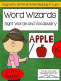 Sight Word and Vocabulary: Differentiated Guided Reading Centers Kindergarten