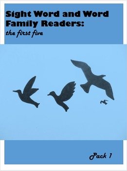 Sight Word and Word Family Readers: Part 1