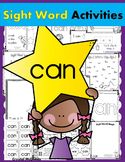 Sight Word CAN (17 Activities for the word CAN) Sight Word of the Week