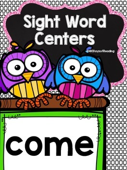 Sight Word come