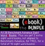 Sight Word eBooks Bundle (Benchmark Advance Kindergarten Series)