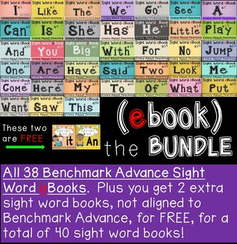 Sight Word eBooks Bundle