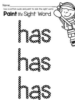 Sight Word has