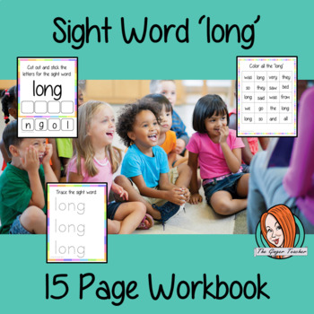 Sight Word 'long' 15 Page Workbook