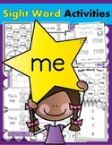 Sight Word ME (14 Activities for the word ME) Sight Word of the Week!