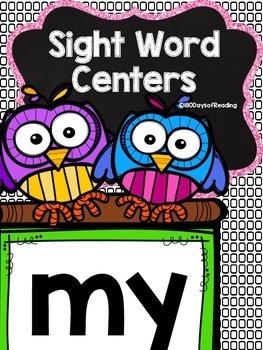 Sight Word {my} Activities