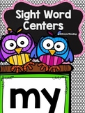 Sight Word {my} Activities