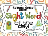 Sight Word of the Day: 2nd grade Dolch Set