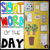 Sight Word of the Day {EDITABLE} Calendar Companion Large Group Activities