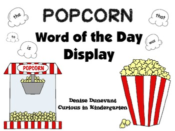 Sight Word of the Day Display - FRY Words