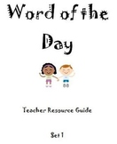 Sight Word of the Day - Teacher Resource Guide