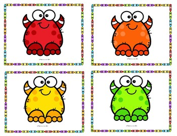 Kindergarten-Special Education - Sight Word - Word Work- Colors