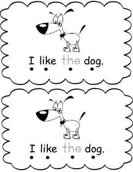 "Sight Word ""the"" Reader"