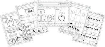 Sight Word Practice - the