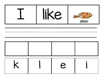 Sight Word the like see Word Work Activities