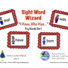 "Sight Word Game: ""I Have, Who Has"" (Fry List 1)"