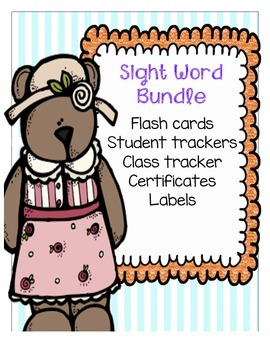 Sight Words and Rainbow Words Bundle