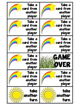 Sight Words 1-100 Game, Flower Theme