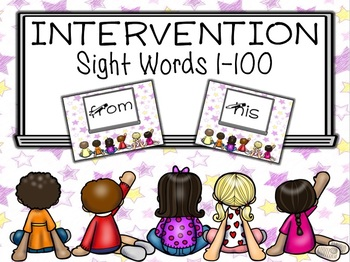 Sight Words 1-100 PowerPoint Intervention