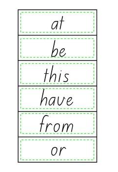 Sight Words Read It! Build It! Write It! Fry Words 1 to 100