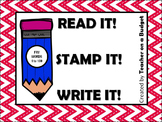 Sight Words Read It! Stamp It! Write It! Fry Words 1 to 100