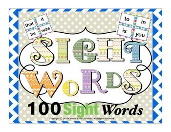 Sight Words #100