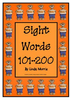 Sight Words 101-200