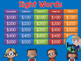 Sight Words Jeopardy Style Game Show GC Distance Learning