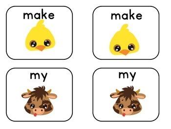 Sight Word Activities | Sight Word Centers | Kindergarten Sight Words