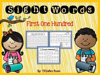 Sight Words {First One Hundred}