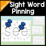 Sight Word Centers with Pins and Paper {220 Pages!}