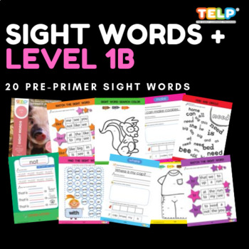 Sight Words 1B