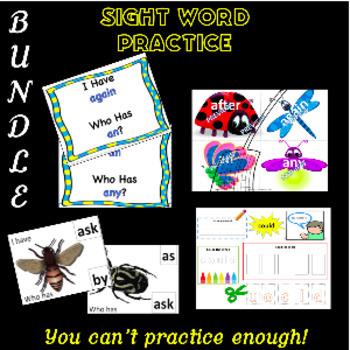 Sight Words: 1st Grade Level BUNDLE