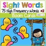 Sight Words 2 Spring Digital Game Boom Cards | Distance Learning