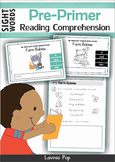 Reading Comprehension Sight Word Readers (Pre-Primer)