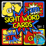 Superhero Sight Words Set 1