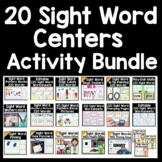 Sight Words Bundle {19 Centers} 4,000+ Pages of Sight Word Activities!