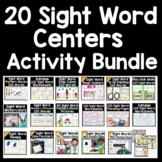 Sight Words Activities Bundle {20 Sight Word Centers!}