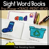 Sight Words - Pre-Primer Interactive Books