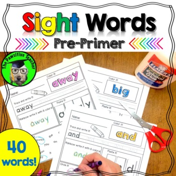 Sight Words - Pre-Primer