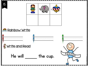 Kindergarten Sight Words Activity - Primer Secret Words