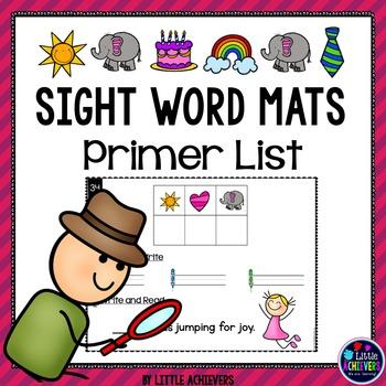 Sight Words Kindergarten - Primer Secret Words
